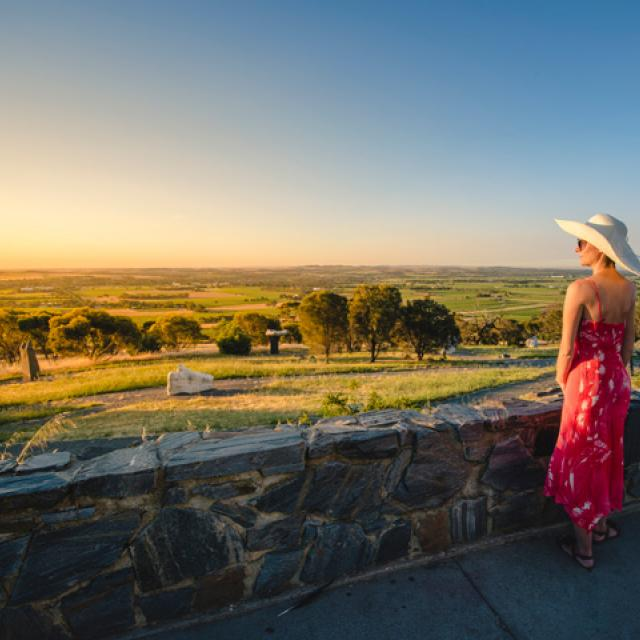 Sunset over the Barossa Valley, South Australia